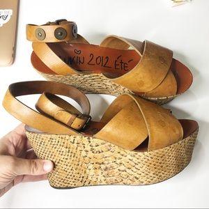 Lanvin 2012 ETE | Platform Heel Sandal sz 7